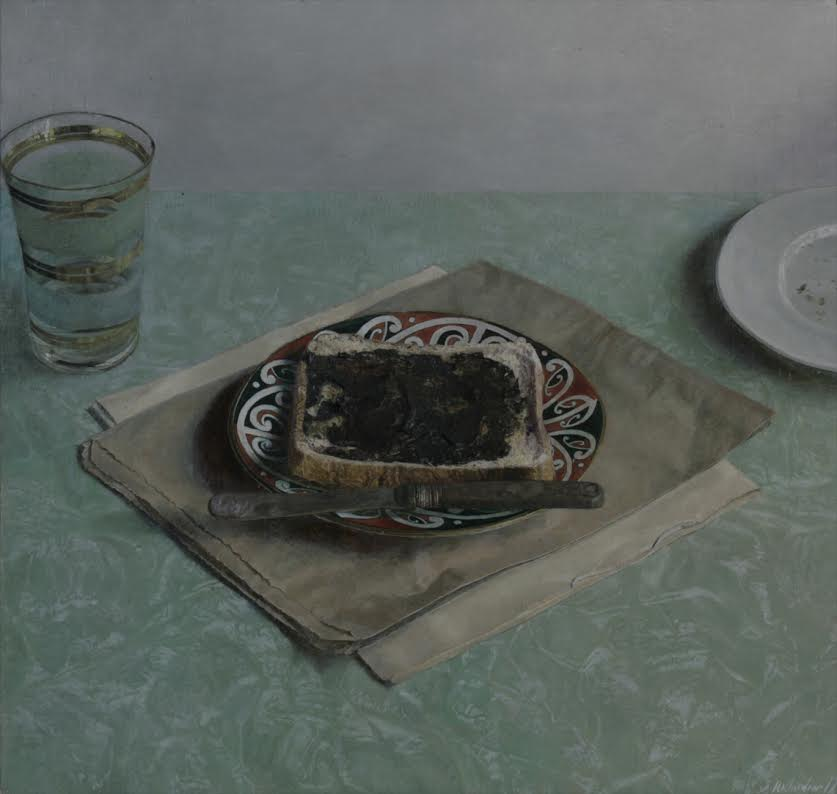 Toast with Maori Plate - Simon Richardson